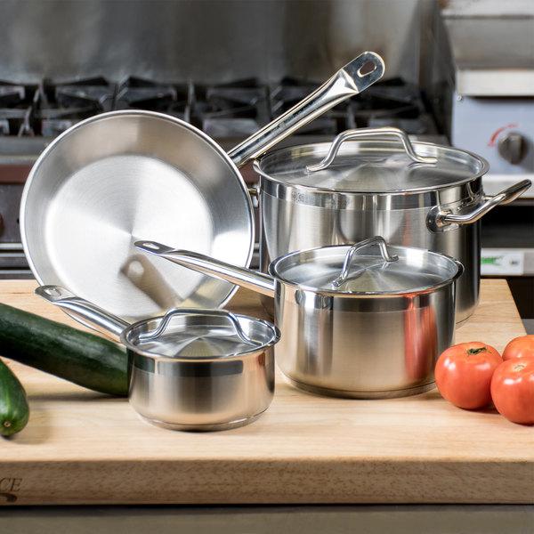 Vollrath 3822 Deluxe 7 Piece Optio Cookware Set