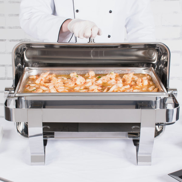 Vollrath 46529 9 Qt. Orion Retractable Electric Chafer Full Size 120V Main Image 4