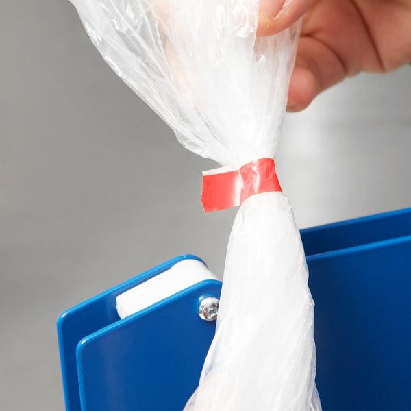 """Blue Poly Bag Sealer Plastic Tape 3//8/"""" x 180 Yards 96 Rolls"""