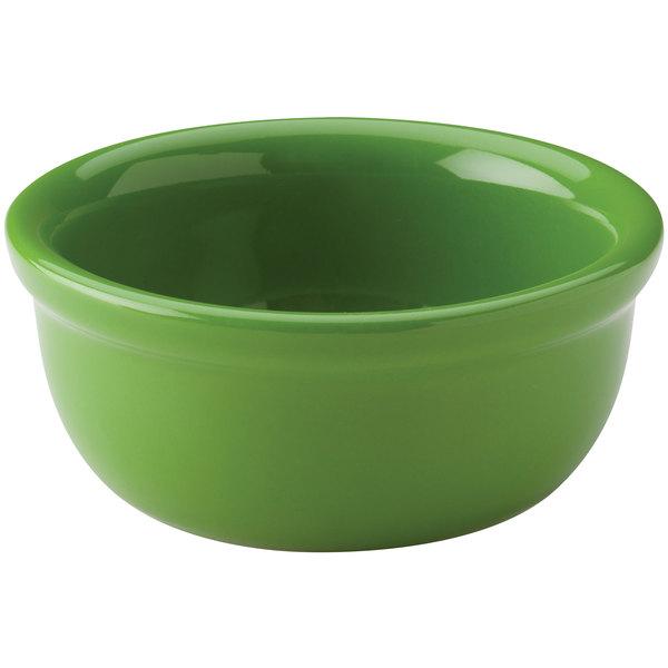 Hall China 30413324 Shamrock 8 oz. Colorations Baking Bowl - 24/Case