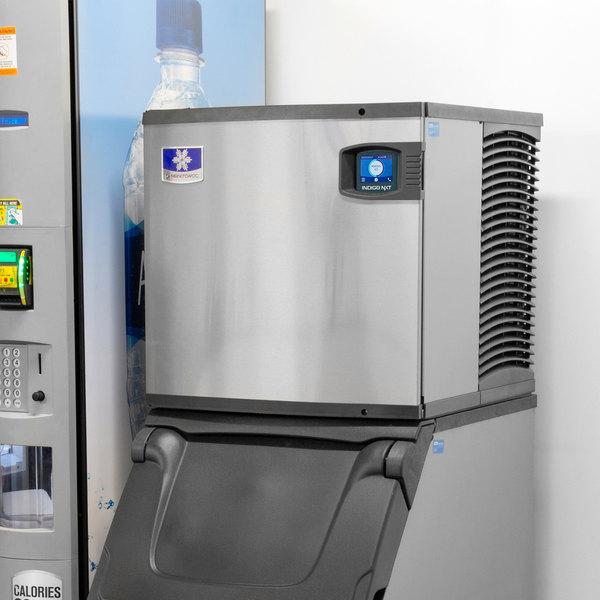 "Manitowoc ID-0522A Indigo Series 22"" Air Cooled Full Size Cube Ice Machine - 120V, 475 lb."