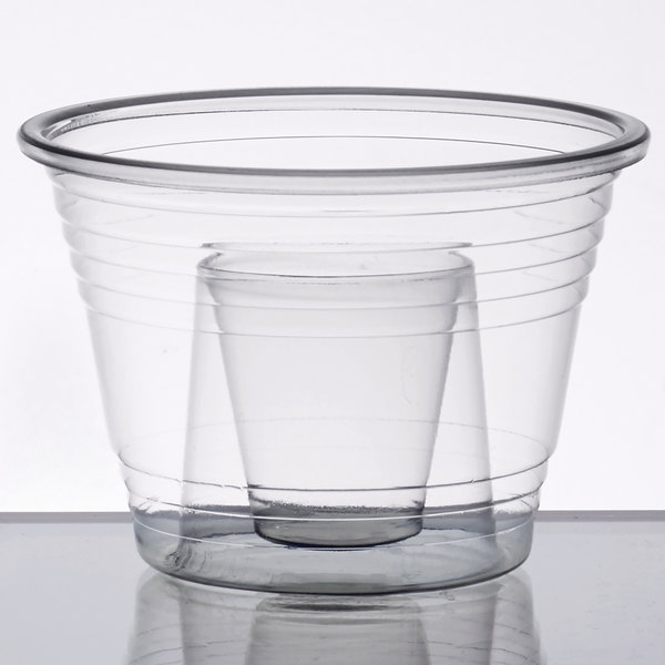 Plastic Power Bomber Shot Cups or Blaster Bomb Glasses Package of 200, Clear - Soft Plastic