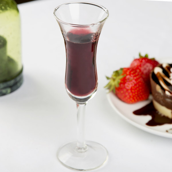 Libbey 8491 Citation Gourmet 1.5 oz. Tall Dutch Cordial Glass - 36/Case