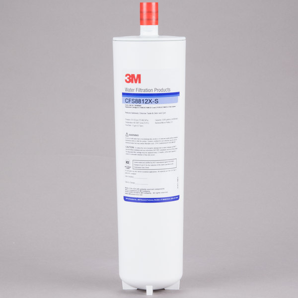 """3M Water Filtration Products CFS8812X-S 12 7/8"""" Replacement Cyst, Reduction Cartridge with Scale Inhibition - 0.5 Micron and 1.5 GPM Main Image 1"""