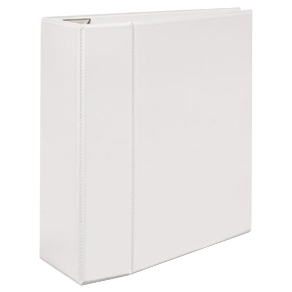 Avery 79106 White Heavy-Duty View Binder with 5 inch Locking One Touch EZD Rings