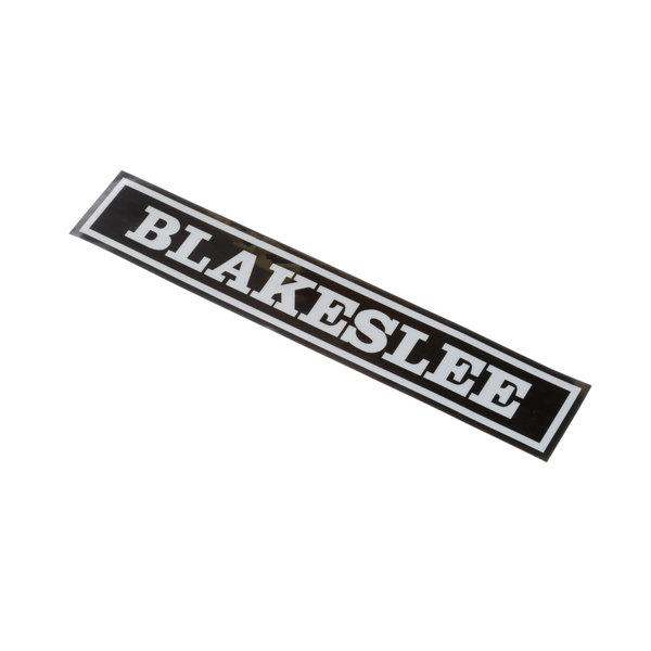 Blakeslee 98658 Label Main Image 1