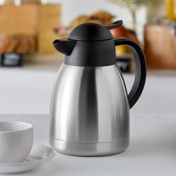 Choice 40 oz. Insulated Thermal Coffee Carafe Main Image 2
