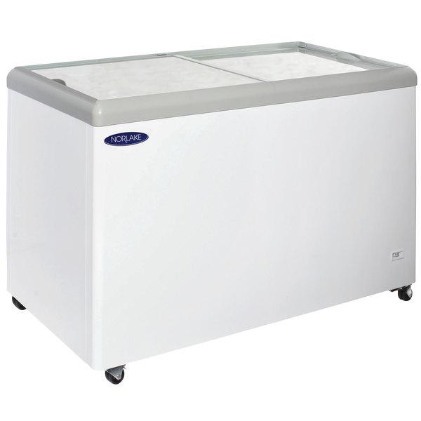 Nor-Lake FTB52-12 Flat Lid Display Freezer - 14 Cu. Ft.