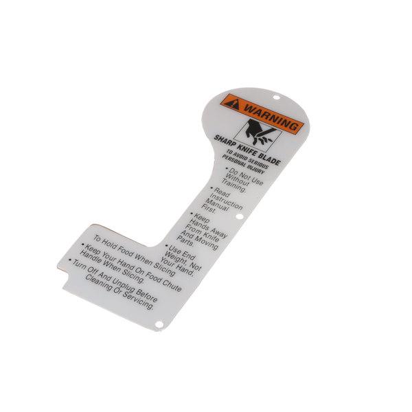 Globe 967-1 Label, Front Warning Main Image 1