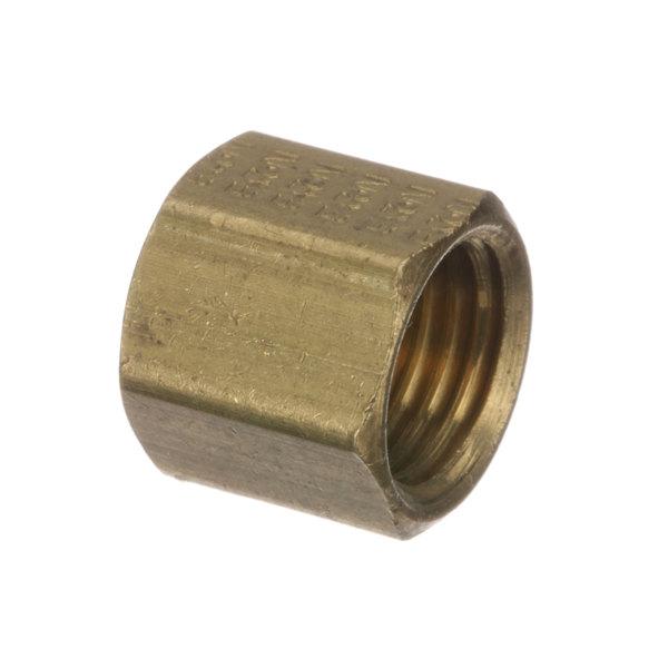APW Wyott 2065634 Nut, 3/8-24 Compression, Brass Main Image 1
