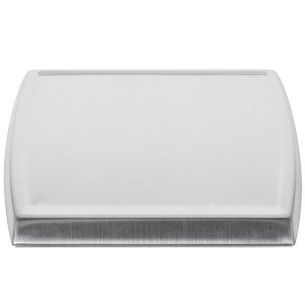 Rubbermaid 1812624 Pelouze Compact Stainless Steel Scale Platform for 1812595, 1812593, and 1812594