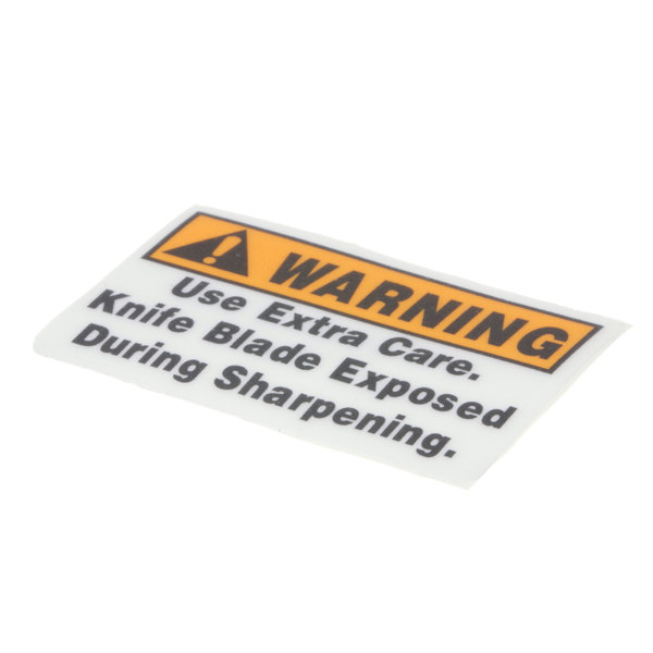 Globe 967-2 Sharpener Cover Warning