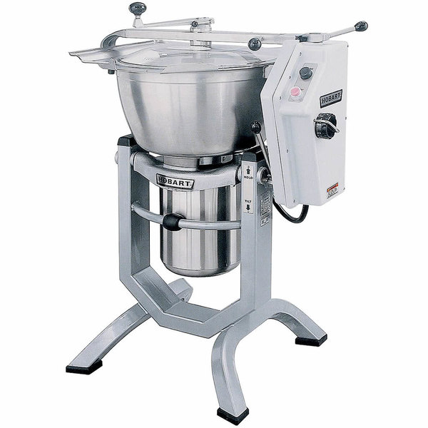 Hobart HCM450-61-4 45 Qt. Vertical Cutter Mixer Food Processor - 208V, 3 Phase, 5 hp Main Image 1