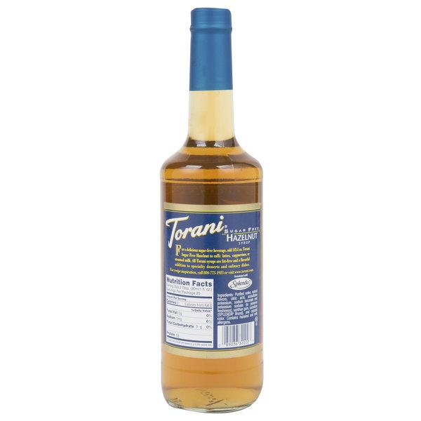 Torani Sugar Free Hazelnut Syrup at
