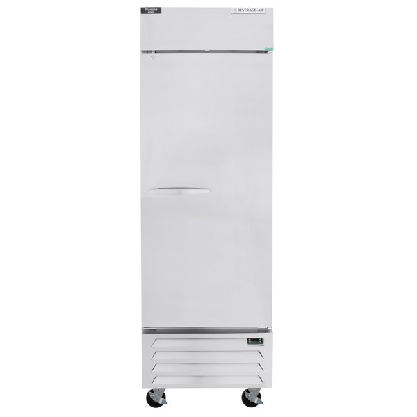 """Beverage-Air HBR23HC-1 Horizon Series 27"""" Bottom Mounted Solid Door Reach-In Refrigerator with LED Lighting Main Image 1"""