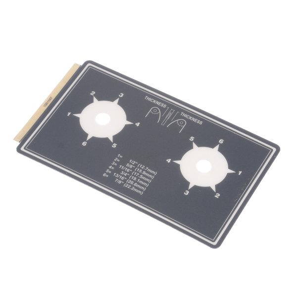Antunes 1001047 Label, Dial Compression