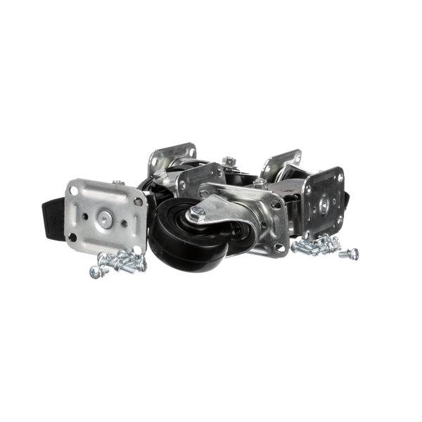 Glastender C-6X4-CO 4 In Casters - 6/Set