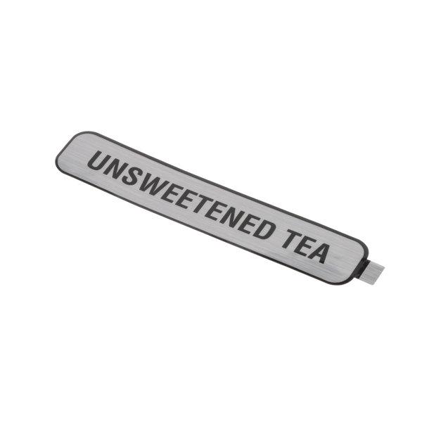 Bunn 29989.0001 Decal, Unsweetened Tea Main Image 1
