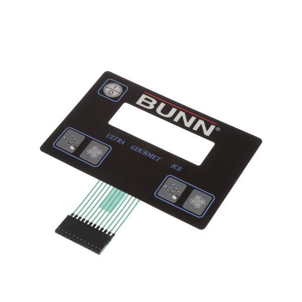 Bunn 32126.1004 Membrane Switch,Black