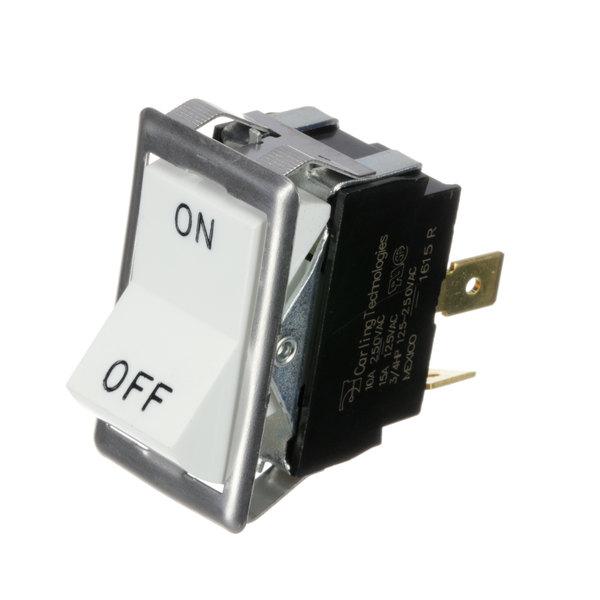 Blodgett 6497 White Rocker Switch Main Image 1