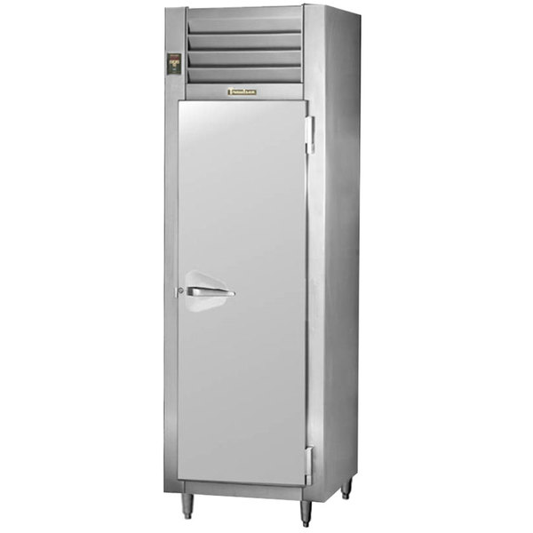 Traulsen RLT132DUT-FHS Stainless Steel 17.7 Cu. Ft. One-Section Solid Door Narrow Reach In Freezer - Specification Line