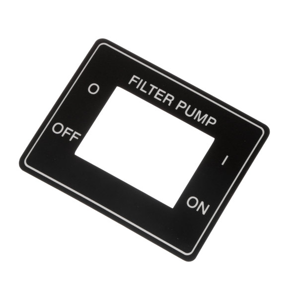 Henny Penny 60609 Label-Power, Filter Switch
