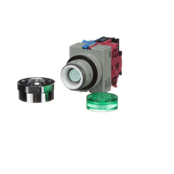 Baxter 01-1000V6-00160 Push Button Green
