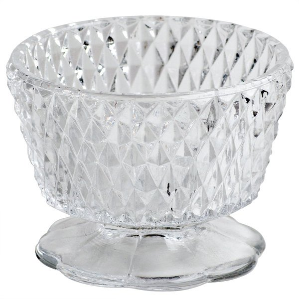 Sterno Products 85102 Clear Angel Diamond Point Lamp Base