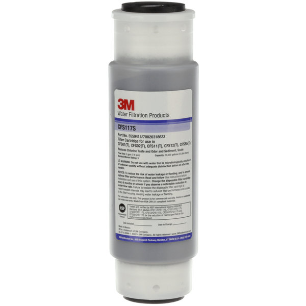 3M Water Filtration Products 5559414 Cartridge CFS117-S