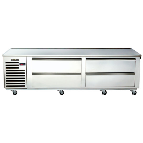 Traulsen Te084ht 4 Drawer 84 Quot Refrigerated Chef Base