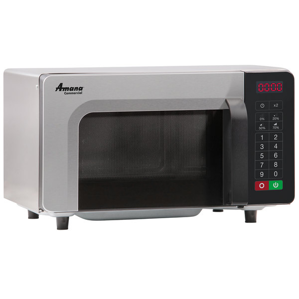 Stainless Steel Commercial Microwave