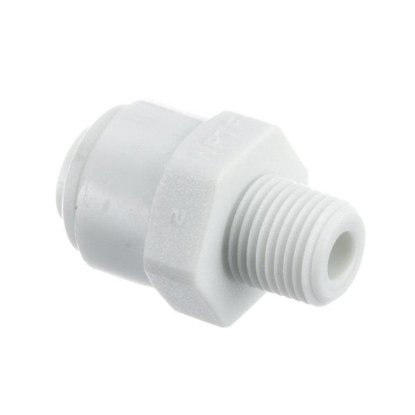 Manitowoc Ice 1360961 Adptr 1/4 Od X 1/8 Nptf,Acetal