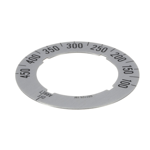 Garland / US Range G02725-19 Dial Insert (Off/450f/100f)