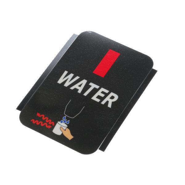Scotsman 17-2830-02 Water Label Gray