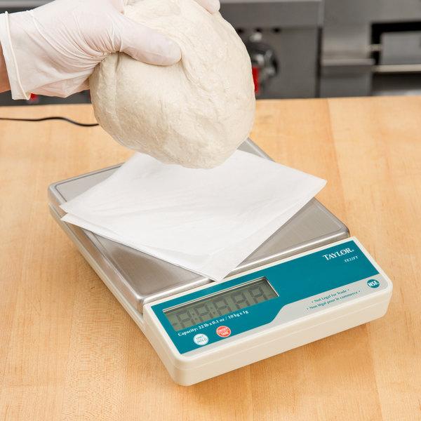 Taylor TE22FT 22 lb. Digital Portion Control Scale