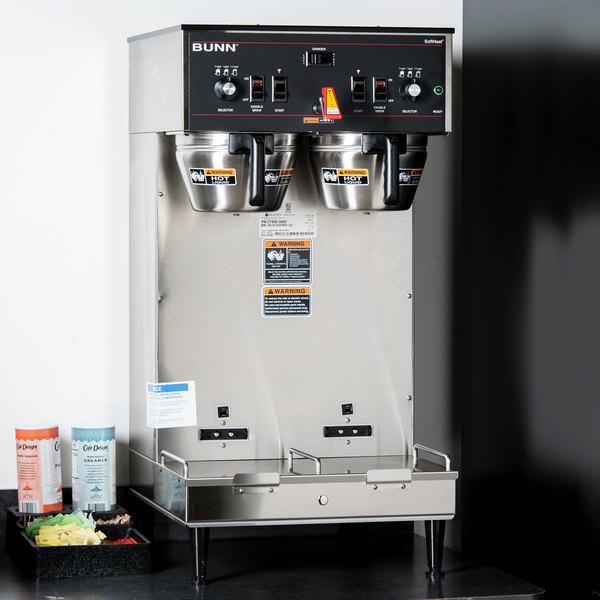 Bunn 27900.0002 Dual Soft Heat Brewer - 120/240V, 6800W Main Image 13