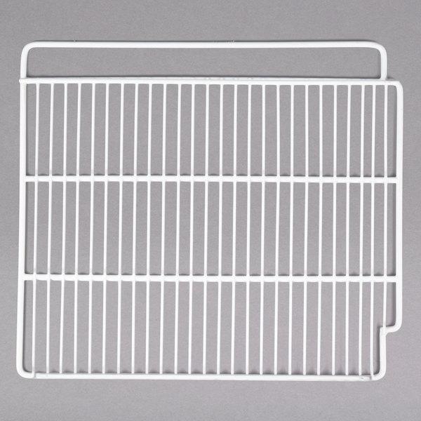 """Left Avantco 178SHELFGD Coated Wire Shelf - 18 3/4"""" x 21 1/4"""""""