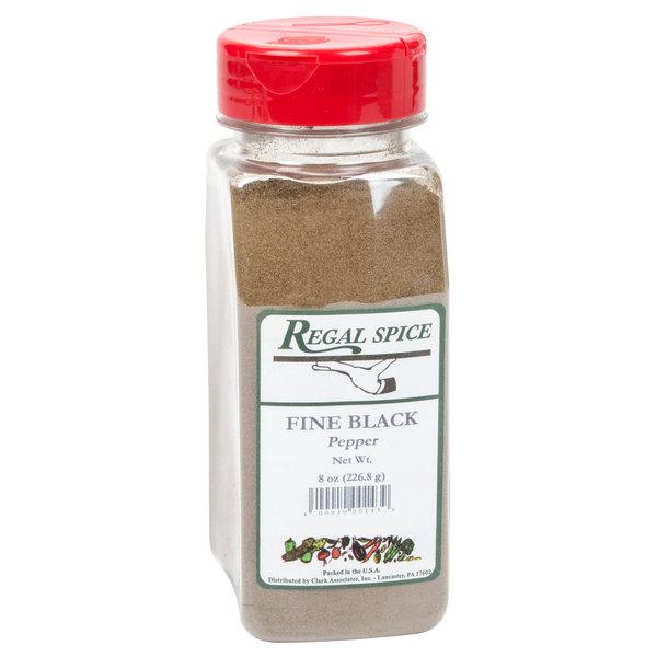Regal Fine Black Pepper - 8 oz.