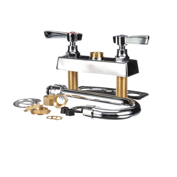 """Component Hardware K11-4000 Deck Mount Faucet With 4"""" Centers"""