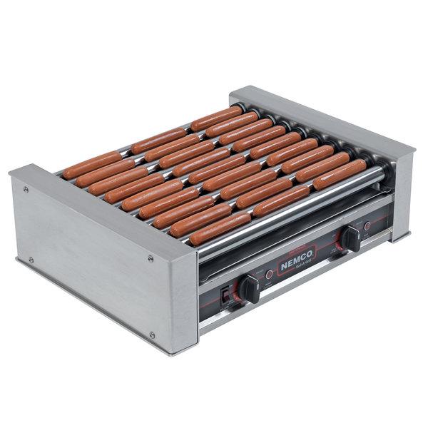 Nemco 8027 Hot Dog Roller Grill - 27 Hot Dog Capacity (120V)