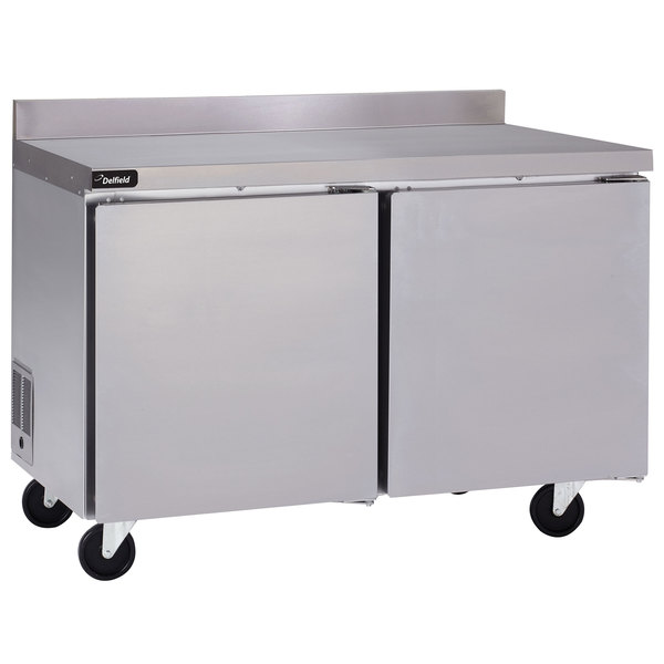 "Delfield GUF60BP-S 60"" Two Door Worktop Freezer"