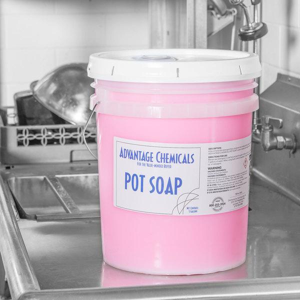 Advantage Chemicals 5 gallon / 640 oz. Pot & Pan Soap Main Image 2