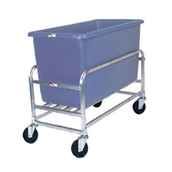 Winholt 30-8-AL/BL Aluminum Bulk Mover with 8 Bushel Blue Tub Main Image 1