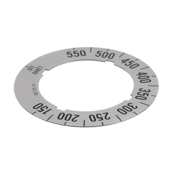 Garland / US Range G02725-17 Dial Insert (Off/150f/550f)