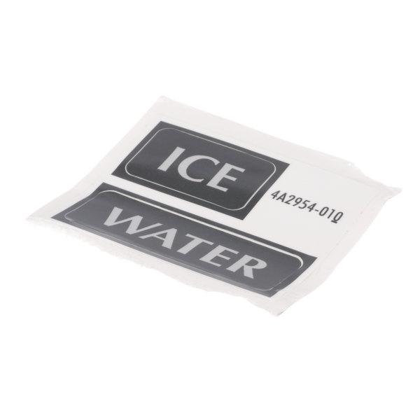 Hoshizaki 4A2954-01 Ice Label Main Image 1