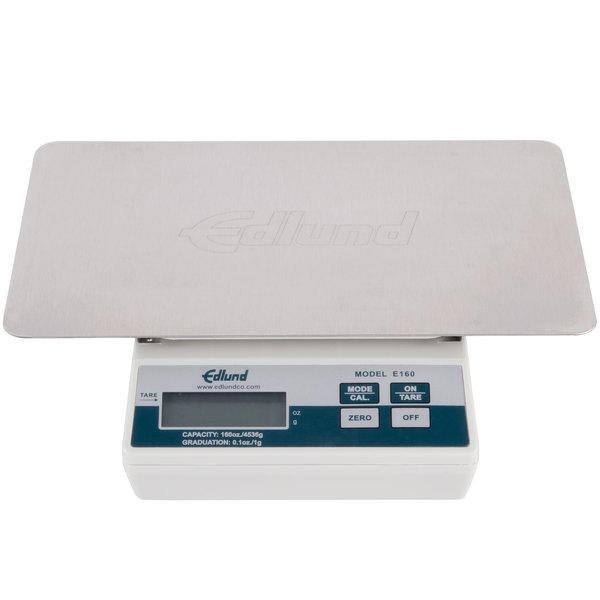 "Edlund E-160 OP 10 lb. Digital Portion Scale with Oversized 11"" x 7"" Platform"