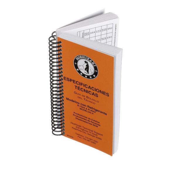 Hoshizaki 80055B Pocket Guide,Spanish