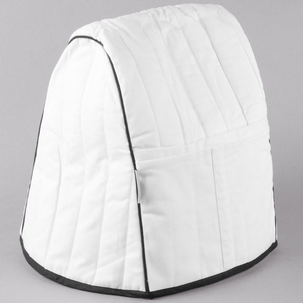 Kitchenaid Kmcc1wh White Quilted Cover For Kitchenaid