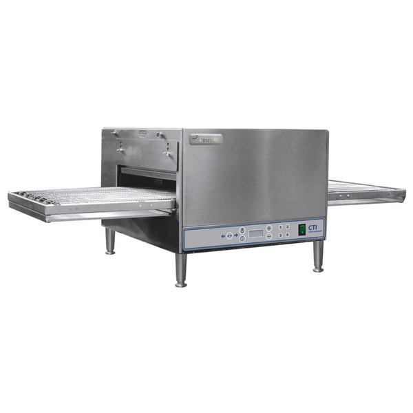"Lincoln 2500-1 2500-1 50"" Digital Single Belt Electric Countertop Conveyor Oven - 240V, 3 Phase, 6 kW"