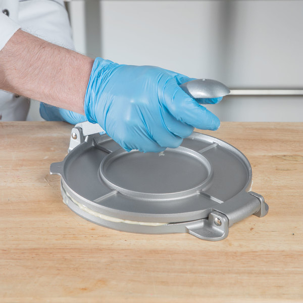 "8"" Aluminum Non-Stick Tortilla Press Main Image 3"